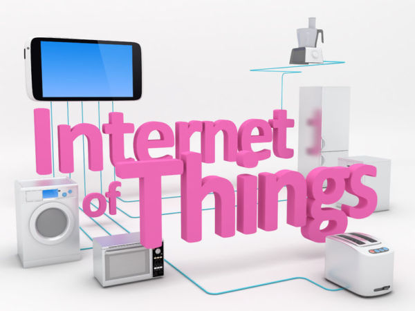 40590659 - internet of things concept - home appliances connected to smartphone